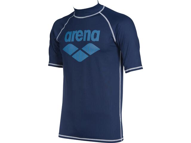 arena Rash SS UV Vest Men, blauw